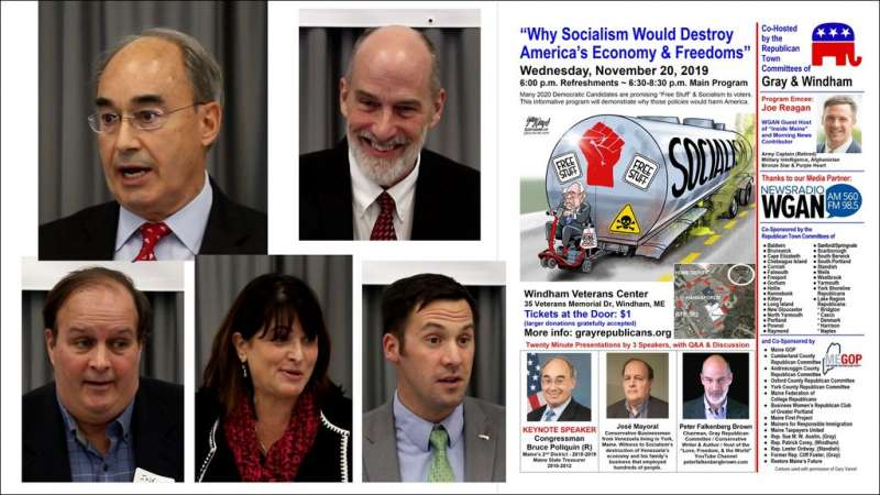 "Event Video: ""Why Socialism Would Destroy America's Economy & Freedoms"""