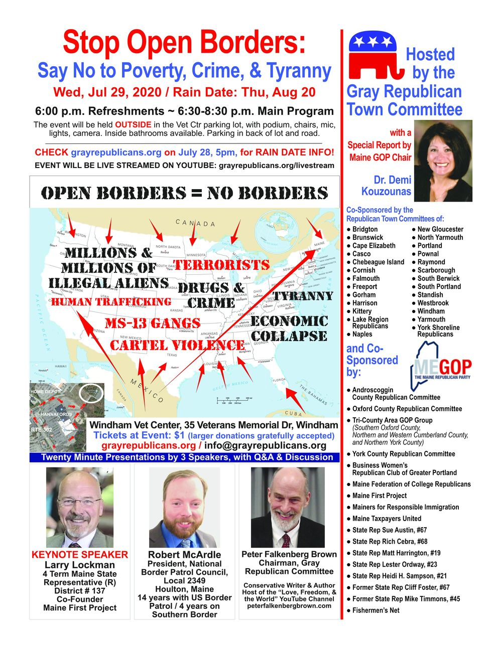 Stop Open Borders: Say No to Poverty, Crime, & Tyranny